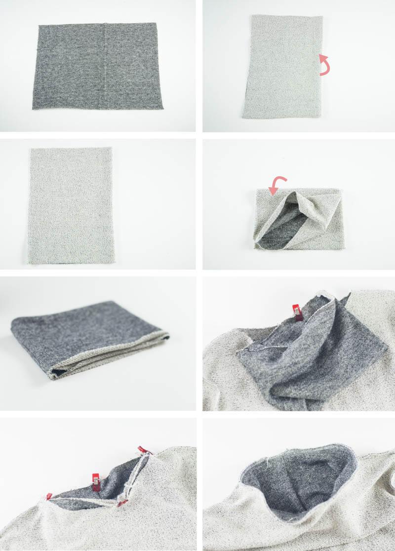 Rollkragen Pullover nähen, Nähblog, Handmade Fashion