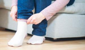 DIY Blog, Nähblog, nähen, Ringelprinz(essin), rosa, Socken nähen
