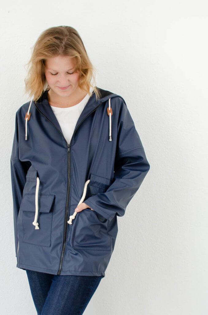 Parka #seweasy zum selbernähen für die DIY Capsule Wardrobe. Ein Must-Have Kleidungsstück für meine Capsule Wardrobe.