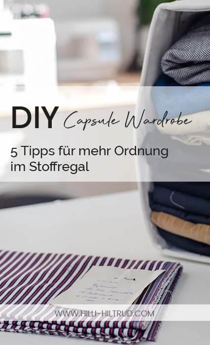 5 ultimative Tipps für mehr Ordnung im Stoffregal