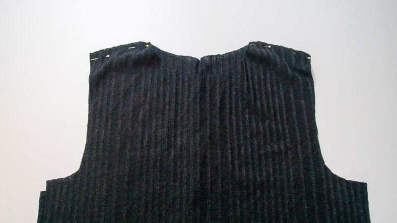 Patternhack Rollkragenkleid nähen Schritt für Schritt Nähanleitung